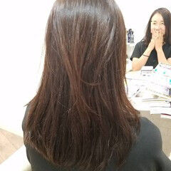 セミロング ストカール 縮毛矯正ストカール 縮毛矯正 ヘアスタイルや髪型の写真・画像