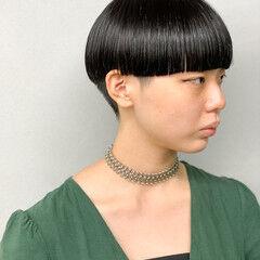 ショート ベリーショート モード 刈り上げ女子 ヘアスタイルや髪型の写真・画像