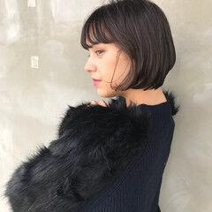 冬 透明感 抜け感 デート ヘアスタイルや髪型の写真・画像