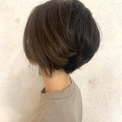 大人ショート ショートヘア 大人遊び心満点アシメヘアー ショート ヘアスタイルや髪型の写真・画像