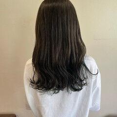 ナチュラル ロング ヘアスタイルや髪型の写真・画像
