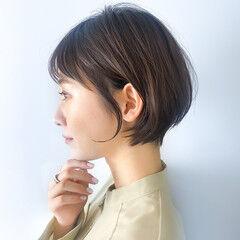 ショートパーマ ショートヘア 大人ショート ショート ヘアスタイルや髪型の写真・画像