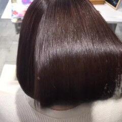 ヘアケア モテボブ ナチュラル 艶髪 ヘアスタイルや髪型の写真・画像