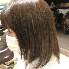 ベージュ クセ ヘアカラー ナチュラル ヘアスタイルや髪型の写真・画像
