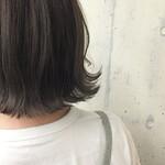 暗髪 グラデーションカラー 渋谷系 外国人風