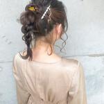 ナチュラル 結婚式ヘアアレンジ ヘアアレンジ 結婚式髪型
