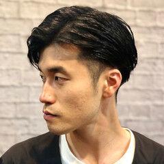 メンズカット コンサバ 簡単スタイリング 刈り上げショート ヘアスタイルや髪型の写真・画像