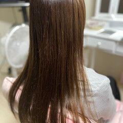 髪質改善 縮毛矯正 髪質改善カラー 髪質改善トリートメント ヘアスタイルや髪型の写真・画像