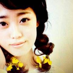 黒髪 ヘアアレンジ 花 卵型 ヘアスタイルや髪型の写真・画像