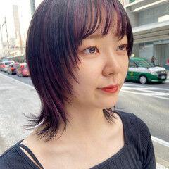 レイヤースタイル レイヤーカット インナーカラー 大人ハイライト ヘアスタイルや髪型の写真・画像