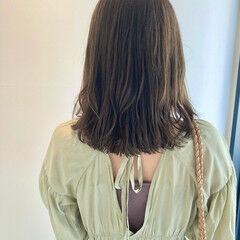 イルミナカラー ミディアム お手入れ簡単!! 艶カラー ヘアスタイルや髪型の写真・画像