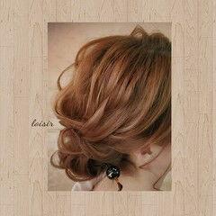 ミディアム ヘアセット 和髪 着物 ヘアスタイルや髪型の写真・画像