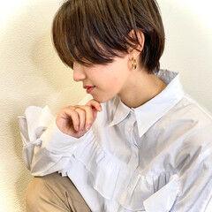 ショート ベリーショート ショートヘア くびれボブ ヘアスタイルや髪型の写真・画像