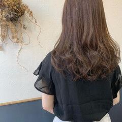 裾カラーオレンジ エレガント ラベージュ 外国人風カラー ヘアスタイルや髪型の写真・画像