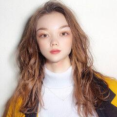 外国人風 ゆるふわパーマ パーマ デジタルパーマ ヘアスタイルや髪型の写真・画像