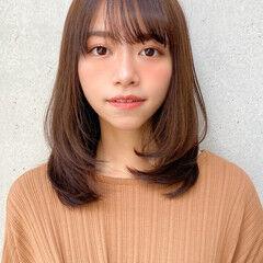 レイヤースタイル 横顔美人 ナチュラル デジタルパーマ ヘアスタイルや髪型の写真・画像