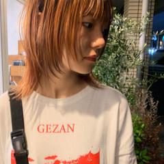 ショートヘア ストリート カジュアル ウルフカット ヘアスタイルや髪型の写真・画像