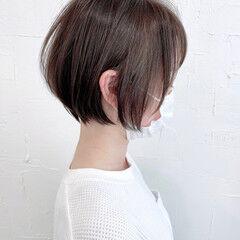 ショート 小顔ヘア お手入れ簡単!! 小顔ショート ヘアスタイルや髪型の写真・画像