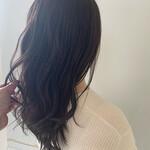 簡単ヘアアレンジ アンニュイほつれヘア セミロング 巻き髪