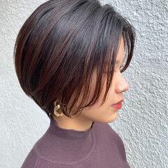 ベリーショート ナチュラル ショートヘア コンパクトショート ヘアスタイルや髪型の写真・画像