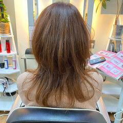 ウルフカット ナチュラル ウルフ女子 ナチュラルウルフ ヘアスタイルや髪型の写真・画像