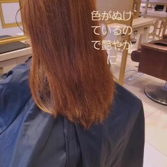 ピンクラベンダー ピンクパープル ロング ピンクベージュ ヘアスタイルや髪型の写真・画像