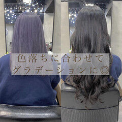 私とマスクとヘアアレンジ 韓国風ヘアー エクステ ロング ヘアスタイルや髪型の写真・画像