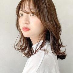 大人かわいい ガーリー パーティ デート ヘアスタイルや髪型の写真・画像