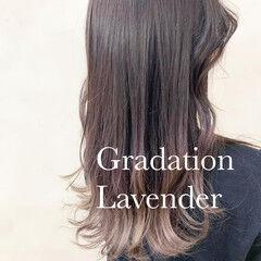 ナチュラル ノーブリーチ イルミナカラー インナーカラー ヘアスタイルや髪型の写真・画像