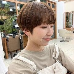 ショート 前髪 ショートマッシュ マッシュショート ヘアスタイルや髪型の写真・画像