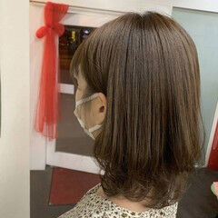 ウルフ ナチュラル ミディアム ウルフカット ヘアスタイルや髪型の写真・画像