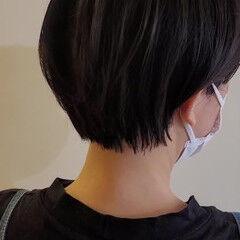 ショート ショートヘア ハンサムショート コンパクトショート ヘアスタイルや髪型の写真・画像