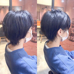 ひし形シルエット 透明感カラー 大人かわいい 愛され ヘアスタイルや髪型の写真・画像