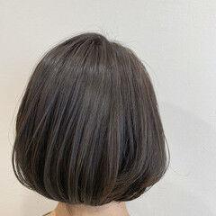 ナチュラル 透明感カラー 大人可愛い シアーベージュ ヘアスタイルや髪型の写真・画像