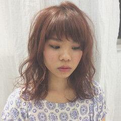ミディアム 大人かわいい ストリート 春 ヘアスタイルや髪型の写真・画像