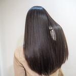 ナチュラル 黒髪 ロング 艶髪