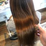 髪質改善カラー 美髪 ナチュラル 髪質改善