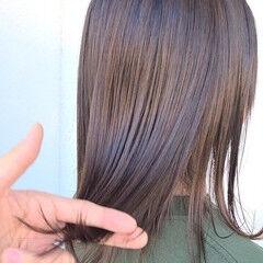 うる艶カラー おしゃれさんと繋がりたい フェミニン 360度どこからみても綺麗なロングヘア ヘアスタイルや髪型の写真・画像