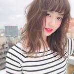 簡単ヘアアレンジ イルミナカラー 髪質改善 デート