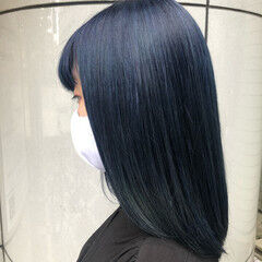 イルミナカラー ブリーチ ミディアム ダブルカラー ヘアスタイルや髪型の写真・画像