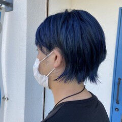 メンズカット メンズヘア メンズショート ガーリー ヘアスタイルや髪型の写真・画像