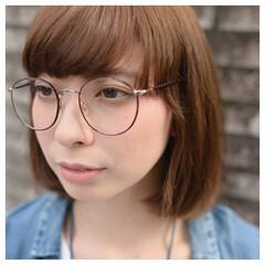 ベース型 ミディアム ナチュラル 大人かわいい ヘアスタイルや髪型の写真・画像