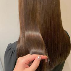 サイエンスアクア イルミナカラー 髪質改善トリートメント 髪質改善 ヘアスタイルや髪型の写真・画像