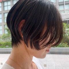 ショートボブ 似合わせカット ボブ エレガント ヘアスタイルや髪型の写真・画像
