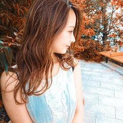 ロング エレガント 銀座美容室 ヘアスタイルや髪型の写真・画像