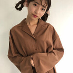 編み込み 簡単ヘアアレンジ 女子力 セミロング