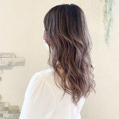 セピアカラー フェミニン エアータッチ 外国人風カラー ヘアスタイルや髪型の写真・画像