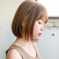インナーカラー  マッシュショート ベリーショート ヘアスタイルや髪型の写真・画像
