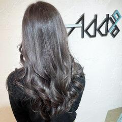 ブリーチカラー ブリーチオンカラー 韓国風ヘアー エレガント ヘアスタイルや髪型の写真・画像