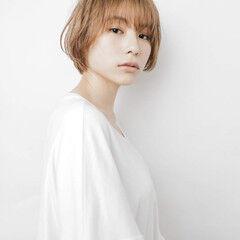 ミニボブ ショートマッシュ ベリーショート マッシュヘア ヘアスタイルや髪型の写真・画像